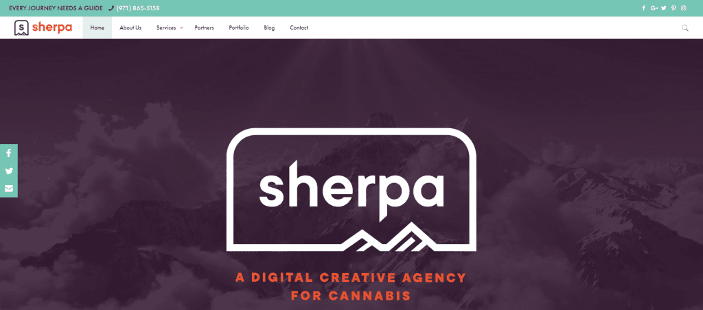 sherpa canna web designers